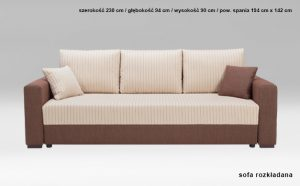 Sofa Capri 3SF