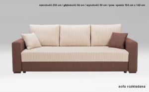 Sofa Capri 3SF