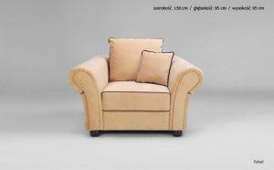 Fotel Roma 1FBF