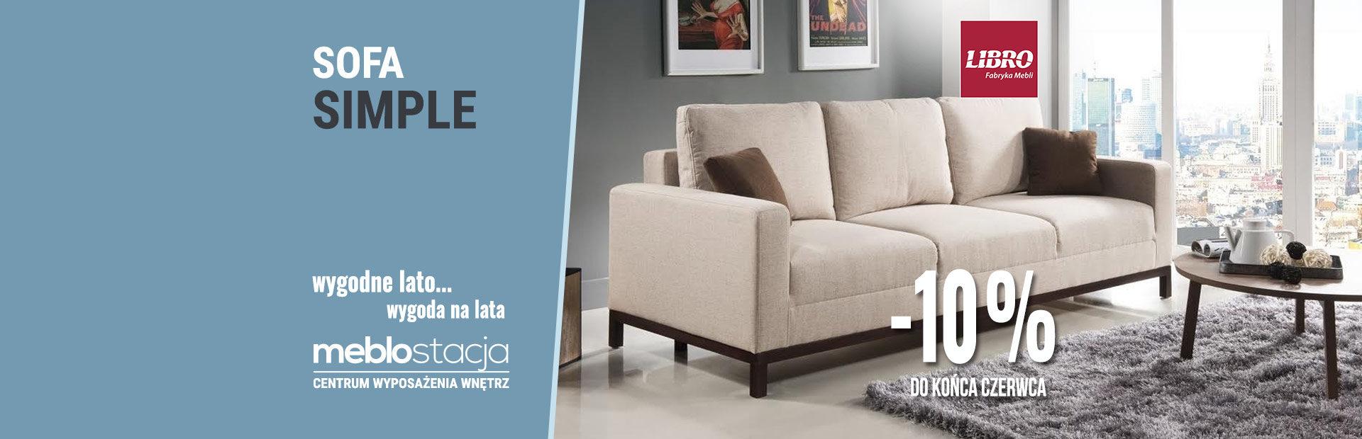 Libro – sofa Simple
