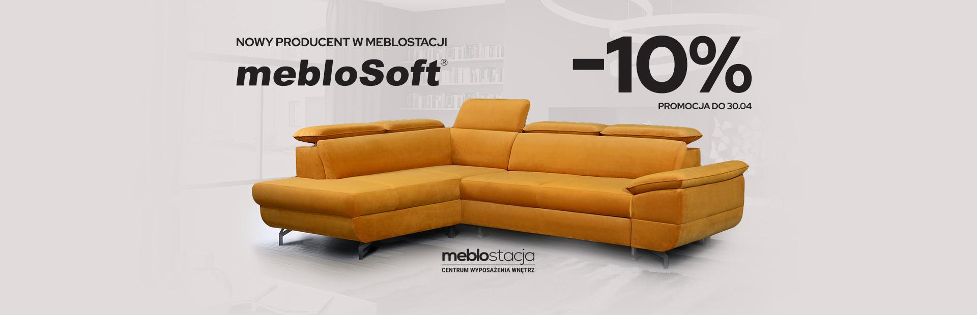 Nowa marka w Meblostacji – MebloSoft